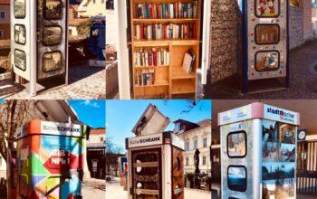 Bücher, überall wo man hinschaut!